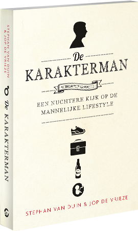 De Karakterman - Boek - Stephan van Duin & Jop de Vrieze